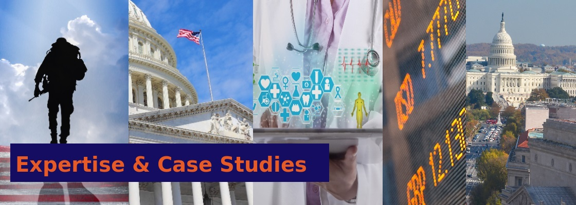 Expertise and case studies banner image