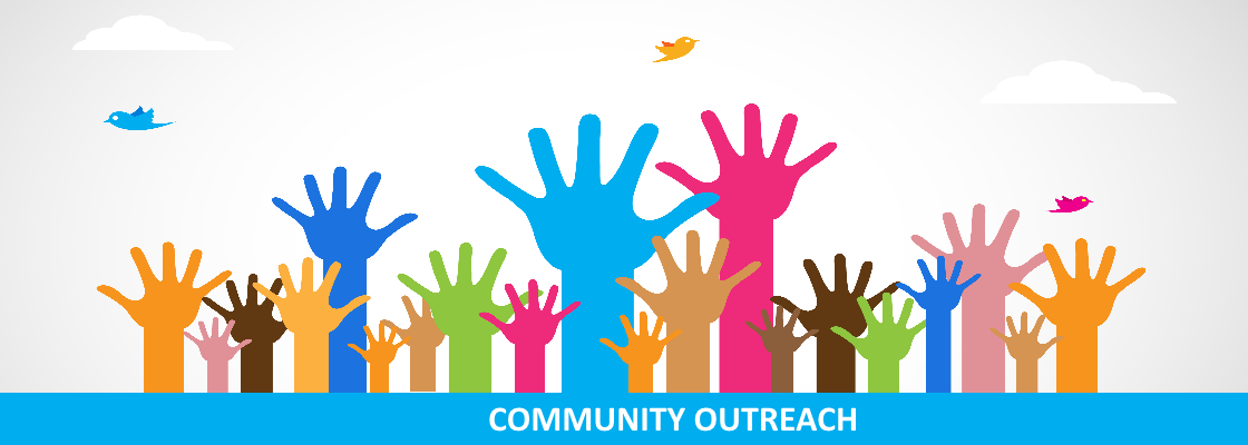 Community Outreach Banner
